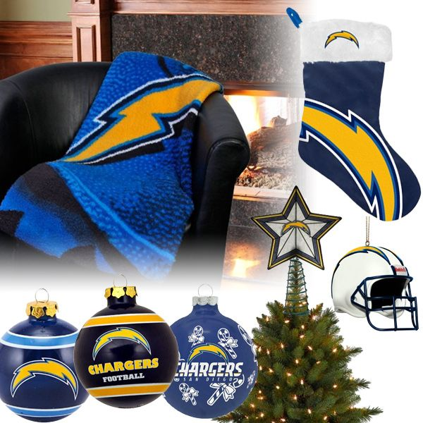 San Diego Chargers Cake: San Diego Chargers Christmas Ornaments, Stocking, Tree