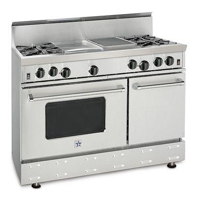 Open Burner Gas Ranges And Stoves Kitchen Design Range Bluestar Range