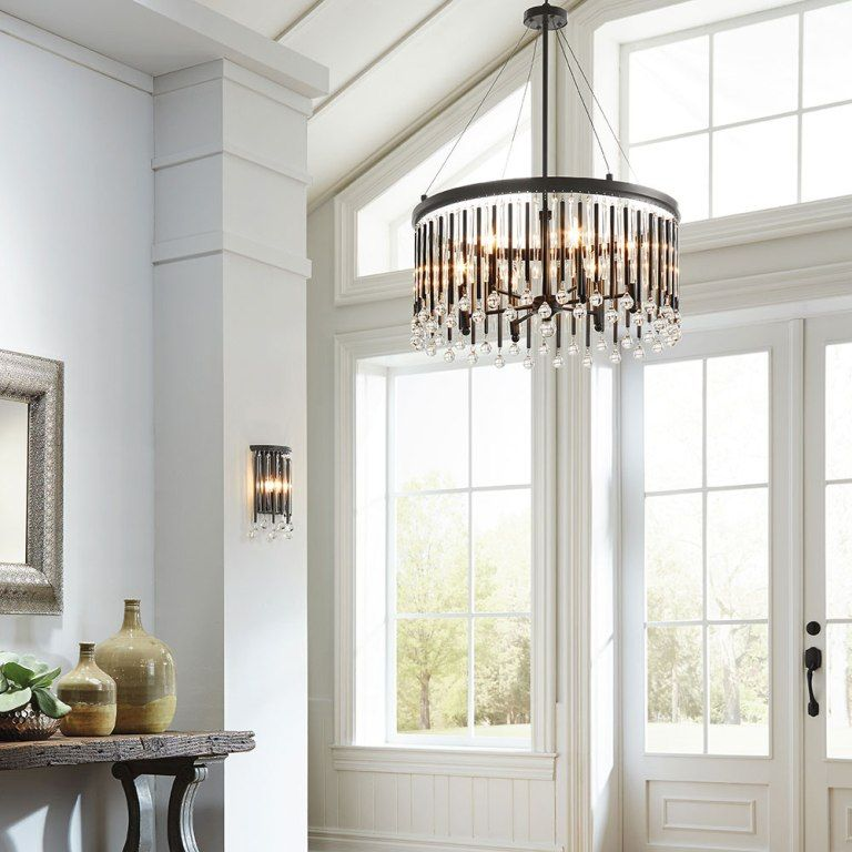 Interior Awesome Foyer Lighting Trends From Things To Consider When Installing