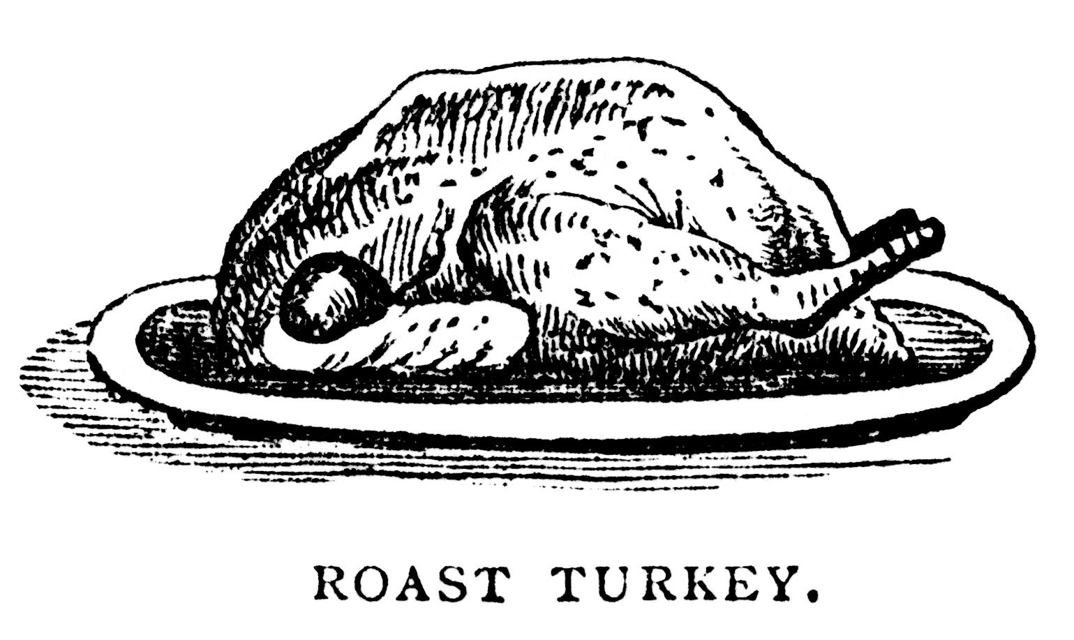 old book paper, cooking turkey recipes, black and white