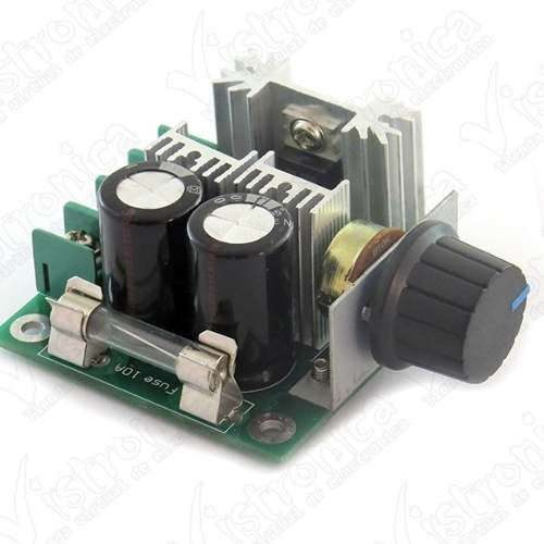 Controlador Pwm De Velocidad De Motor Dc 12v-40v/10a - $ 24.000