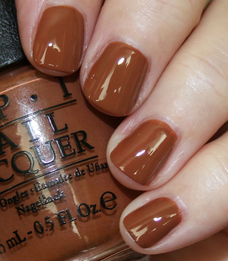 My Favorite Brown Opi Nail Lacquer Colors Vampy Varnish Opi Nails Nail Lacquer Brown Nail Polish