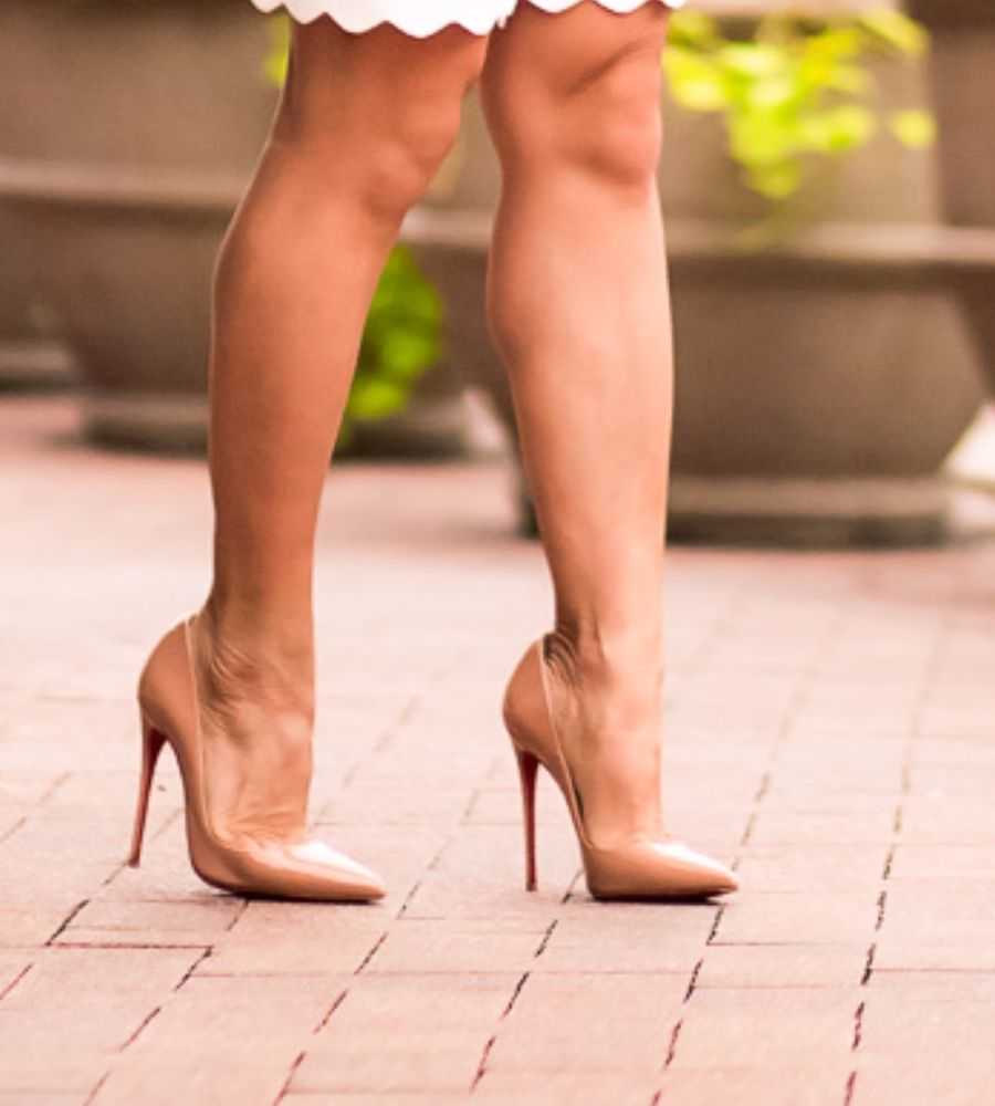 f58d10ae28d So Kate Patent 120mm Red Sole Pump, Nude at Cute & Little Store ...