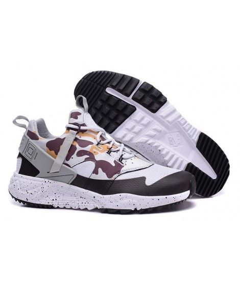 afe847ffb5255 sweden newest designed nike air huarache utility run shoes camouflage gray  black mens sneaker online store