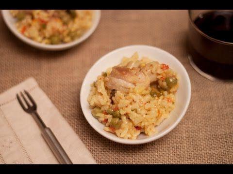 Arroz Con Pollo En La Olla Rápida Wmf Arroz Con Pollo Recetas Con Arroz Arroz Con Carne
