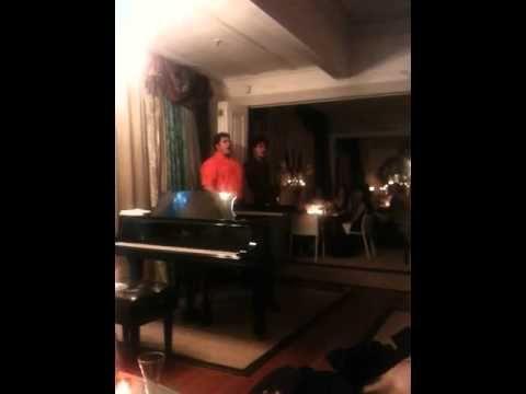 "Pati brother sing tenor ""O Holy Night"""