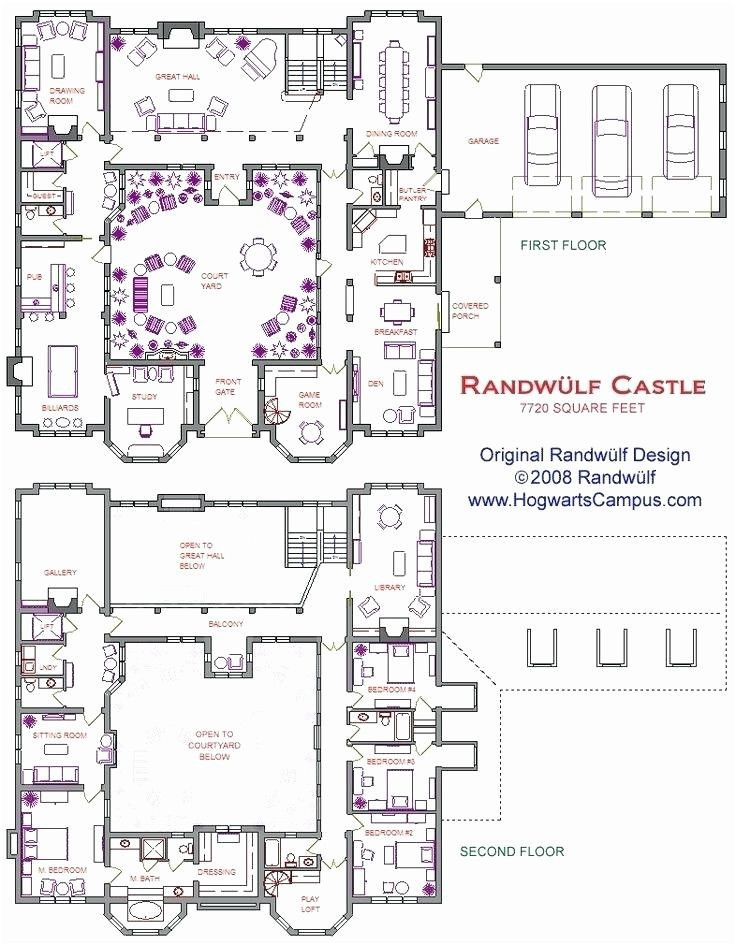 Medieval Castles Floor Plan Castle House Plans Courtyard House Plans Castle Floor Plan
