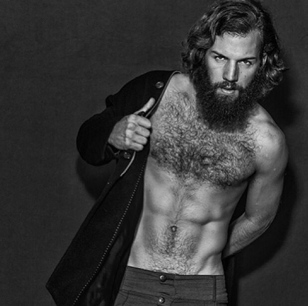 mens hair style photos is it that i m staring at the beard and not the abs 7326