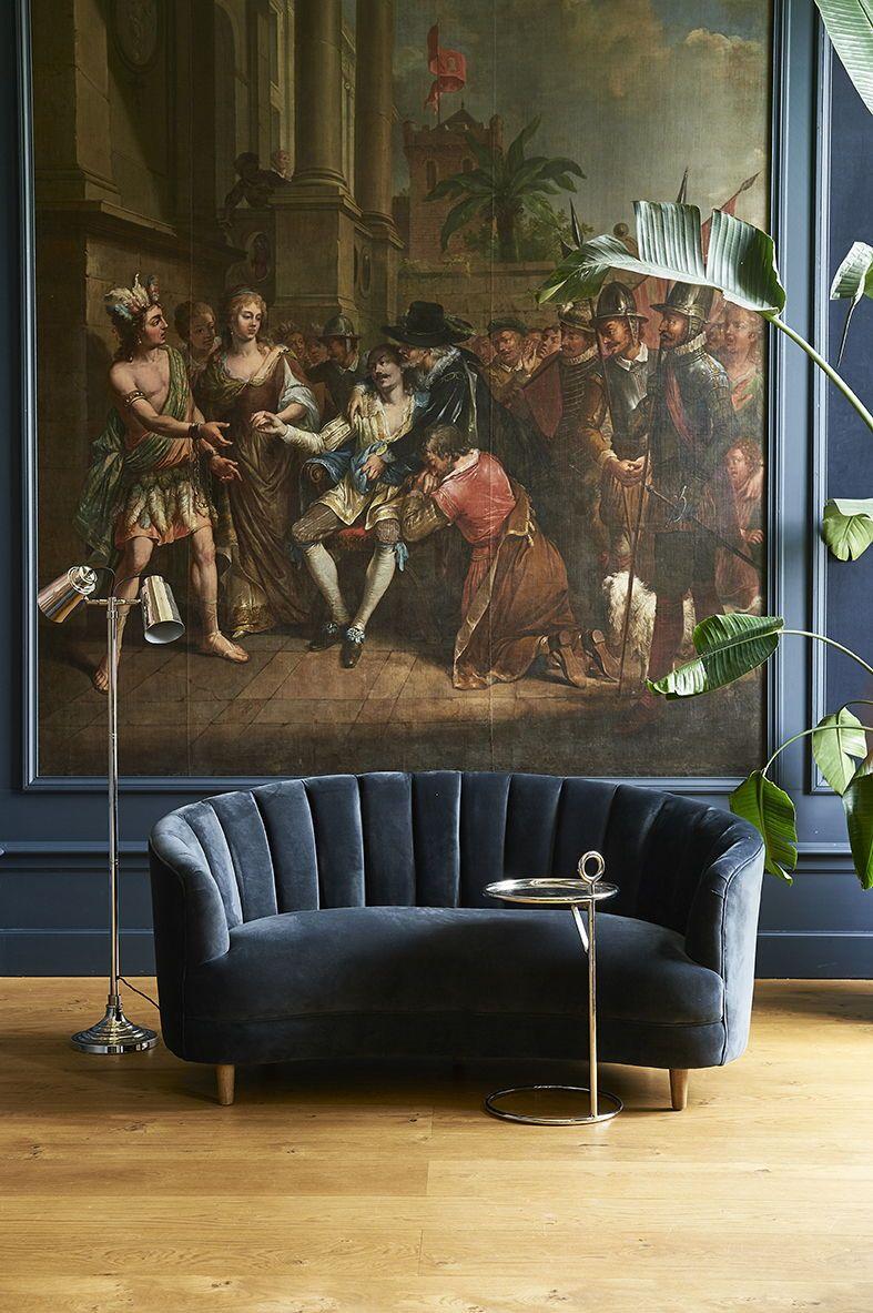 Riviera Maison Leren Bankstel.Beverly Hills Sofa Curl Up Cosily In This 2 5 Seat Velvet Sofa