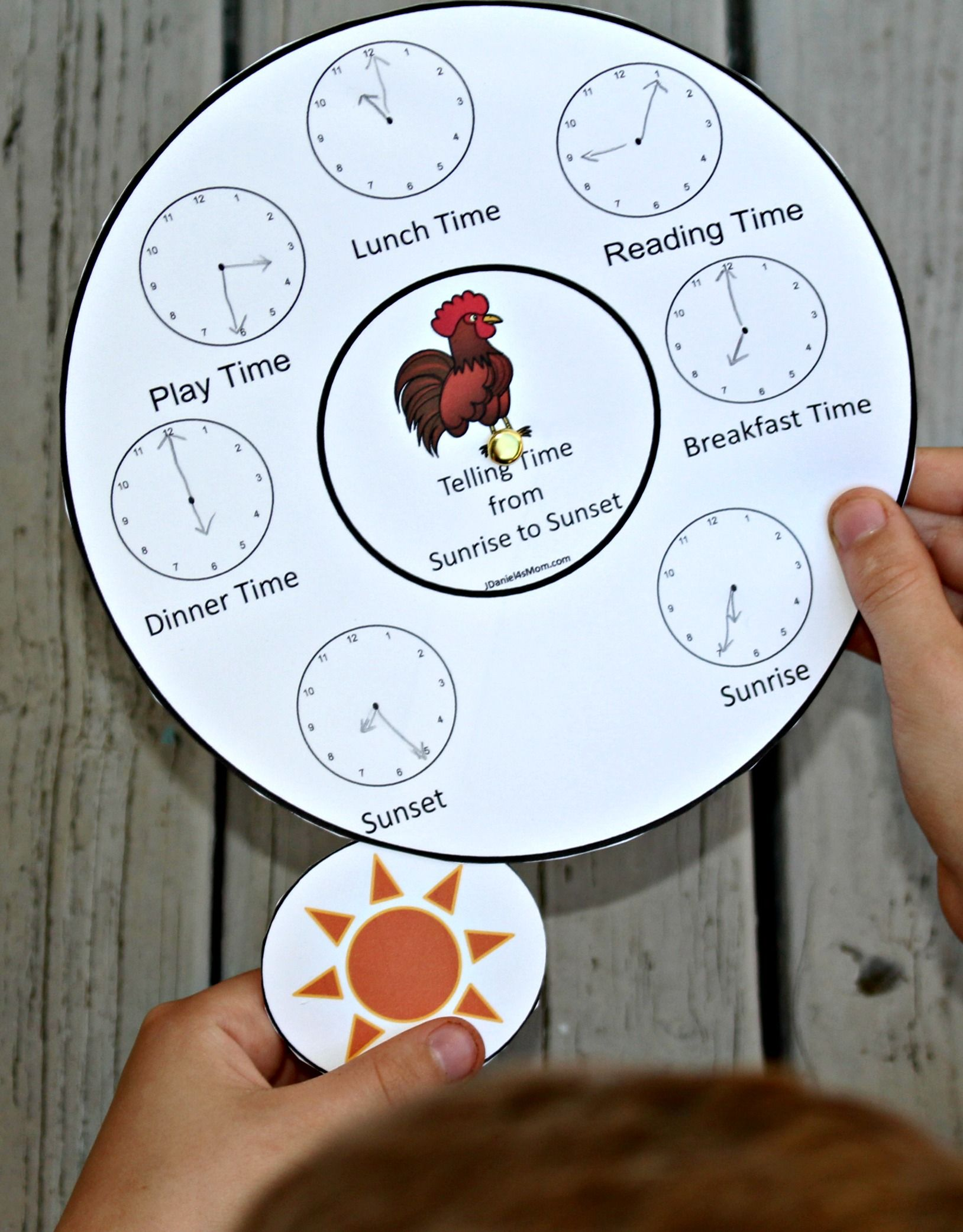 Telling Time From Sunrise To Sunset Stem Worksheets In
