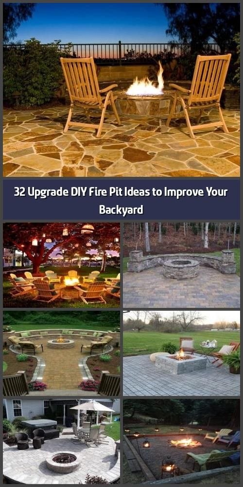 32 Upgrade DIY Fire Pit Ideas to Improve Your Backyard ...