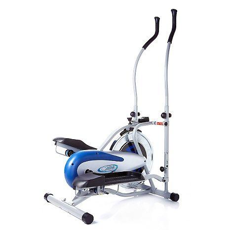 New Elliptical Machine Bike Home Gym Crossfit Trainer 2 In 1