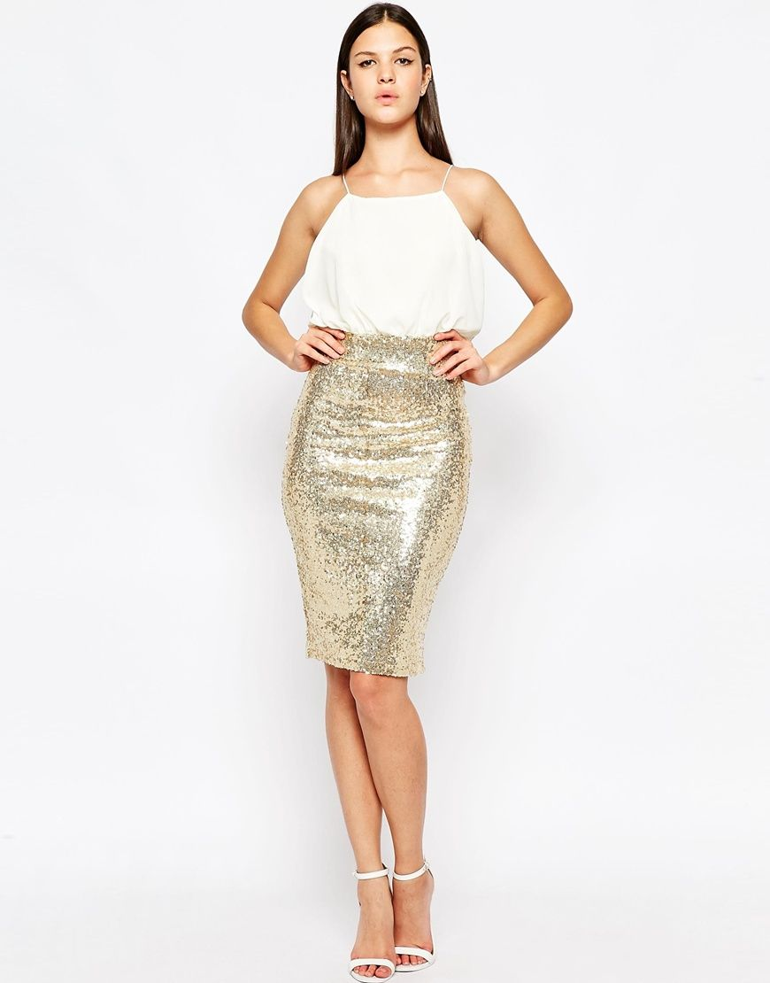 34952e6ec4 Cami Midi Dress with Sequin Skirt  60 Lots sizes avail. Fiesta