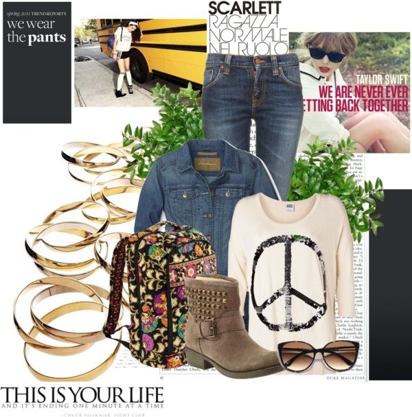 """To cool for school"" by peachtree-747 on Polyvore"