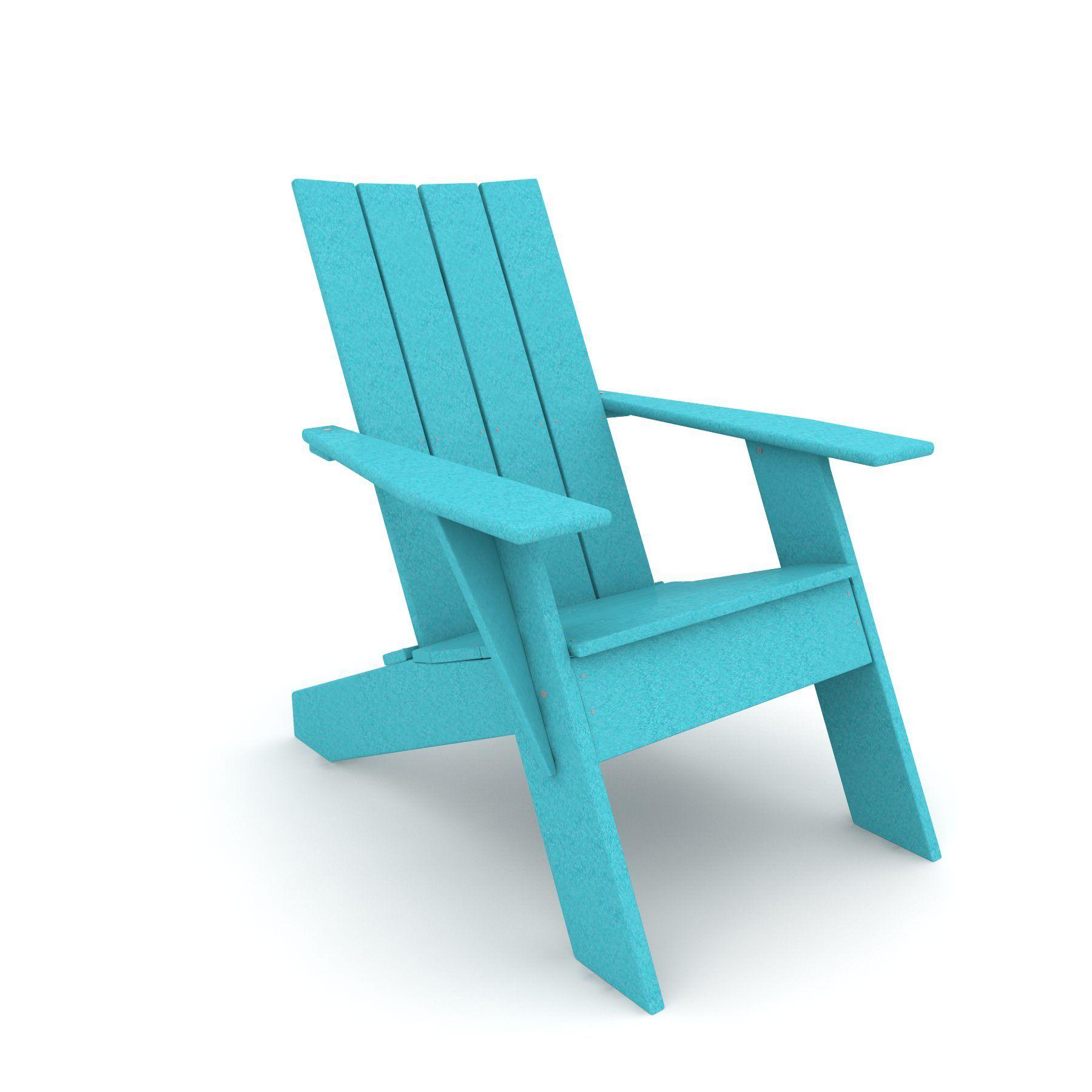 Türkis Adirondack Stühle | Stühle modern | Pinterest