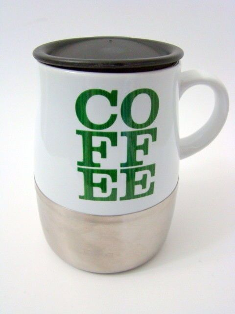 Coffee Ceramic Travel Mug Lid With Starbucks 1cFJTlK