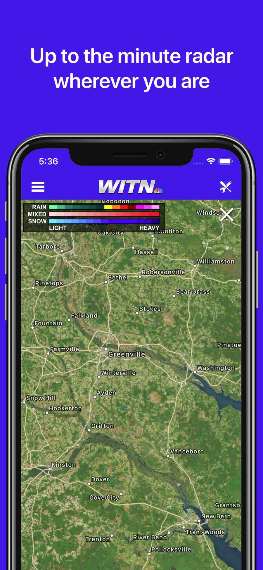WITN News WeatherGroupappsios Cove city, Ios apps, App