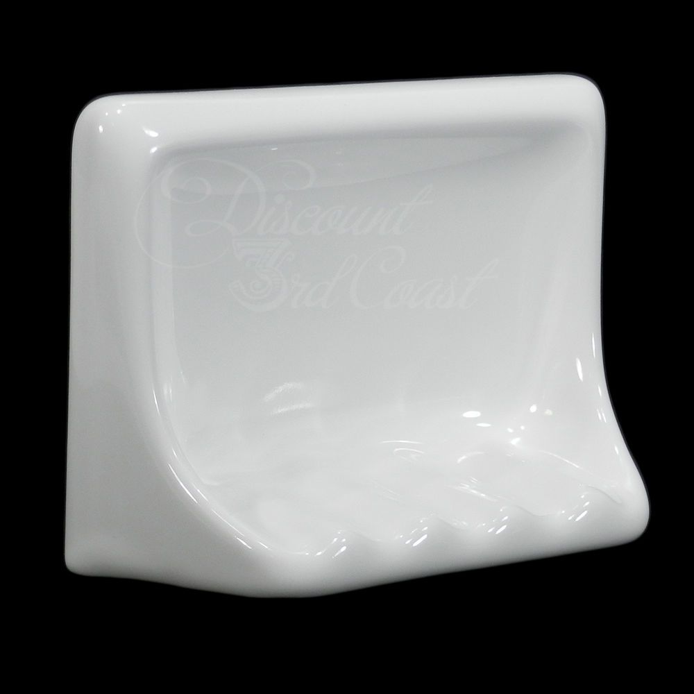 Gloss White Porcelain Soap Dish For Tub Shower Tile In 6 5 X 5 X 2 5 New Olmosuruguay Dish Soap Diy Dish Soap Shower Tub