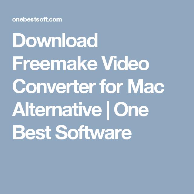 freemake video converter para mac