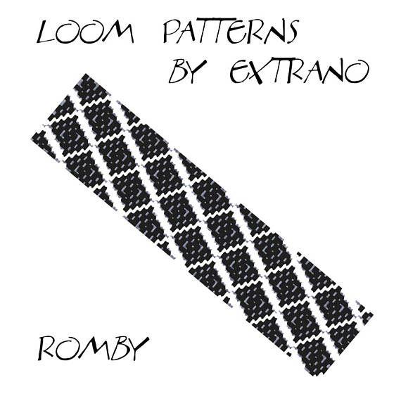 Bead Loom Pattern, Loom Tutorial, Beading Pattern, Loom