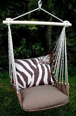 Zebra Indoor Outdoor Swing Chair So Many Other Colors Prints Check It Out Bedroomswingchair