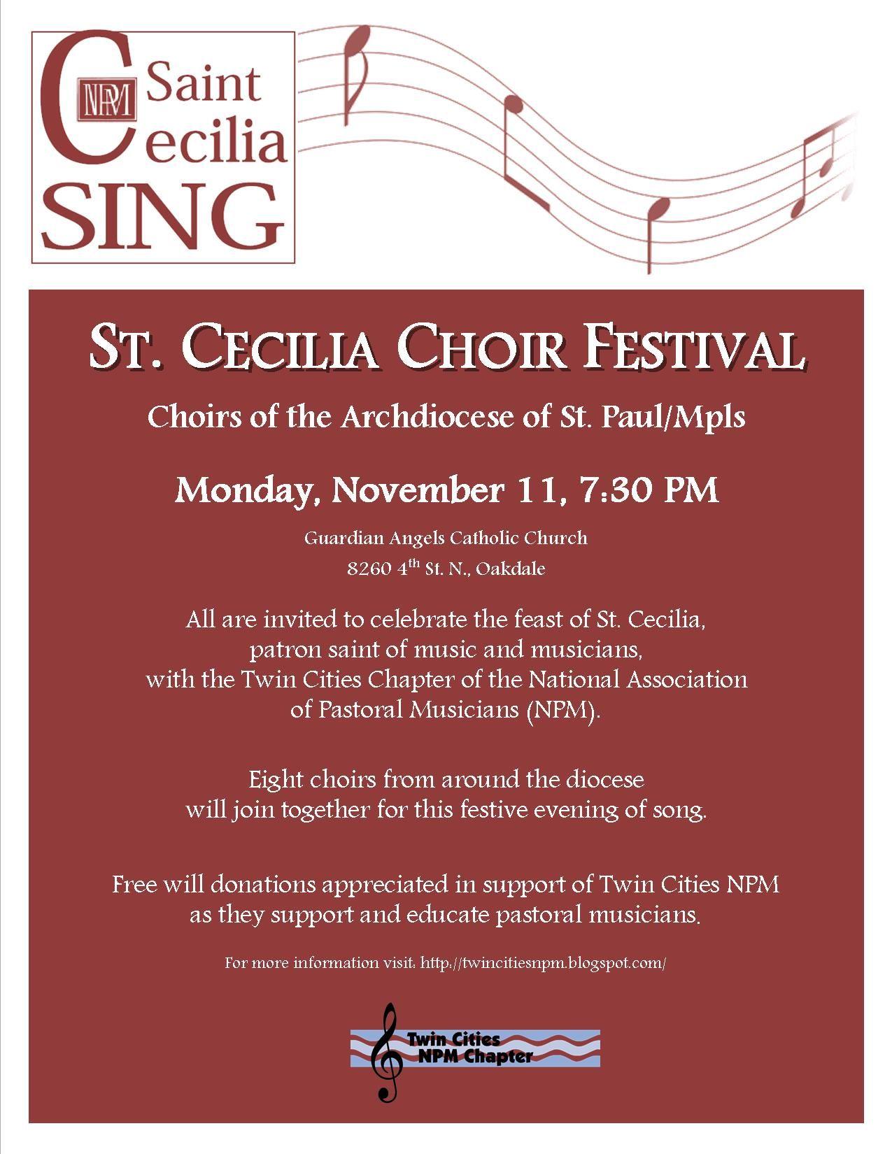St Cecilia Sing
