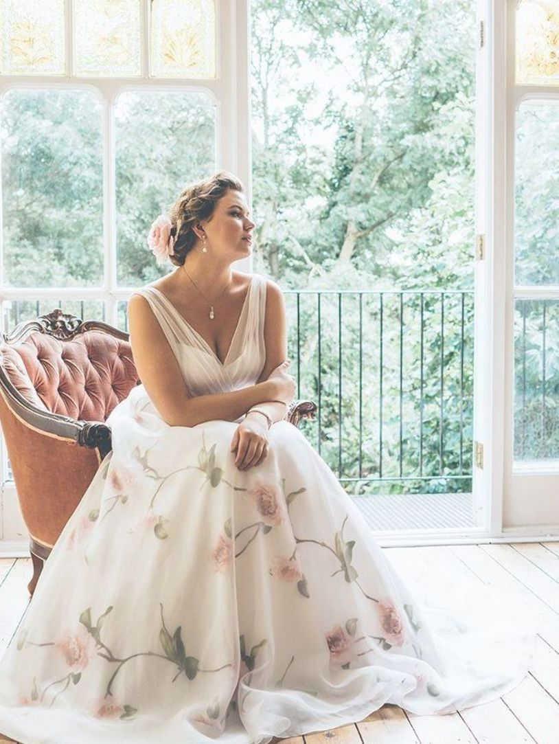 Plus Size Wedding Dresses Uk Floral Organza Wp347 Dress From White Rose Graceful Re P Plus Wedding Dresses Wedding Dresses Uk Alternative Wedding Dresses