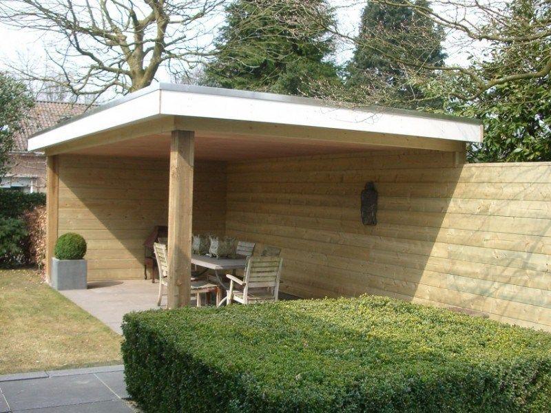 Garage Met Veranda : Inspiratie voorbeelden van een tuin met veranda