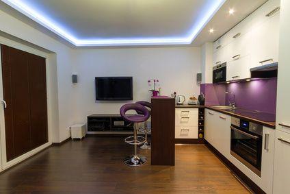Indirekte Beleuchtung verleiht Wohnräumen das gewisse Etwas   Ideen ...