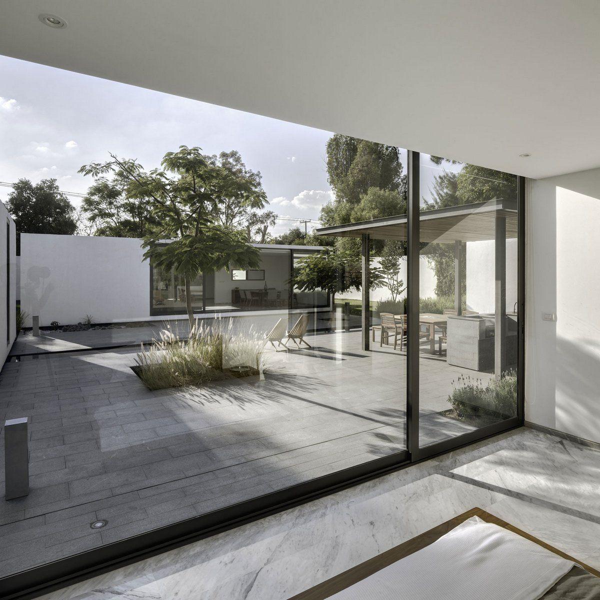 Модульный дом в Мексике | Архитектура в стиле минимализм ...