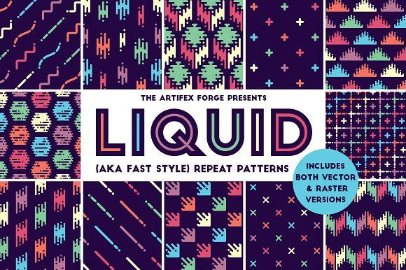 Liquid repeat patterns graphics creative business card designs business cards colourmoves