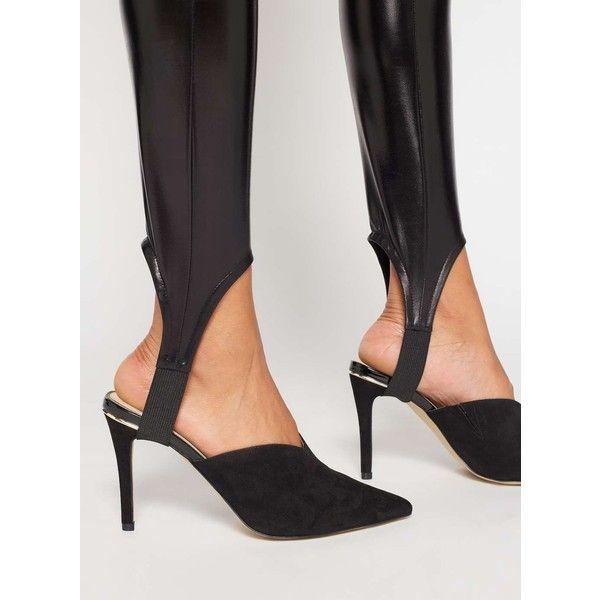 Miss Selfridge Petite Stirrup Leggings 31 Liked On Polyvore