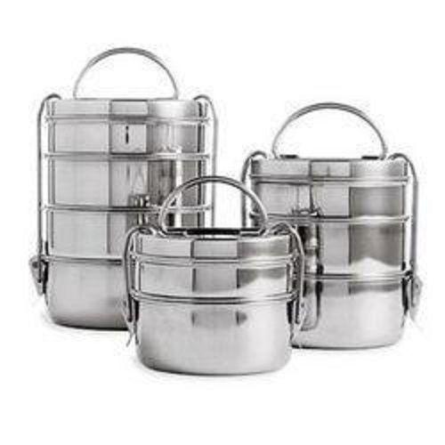 Runder Edelstahl Tiffin Box Indische Lunchbox Picnic Grill 2 Oder 3 Oder 4 Tier In Mobel Wohnen Kochen Geniessen Ordnung Aufbewahrung Eba Lunchbox Ideen