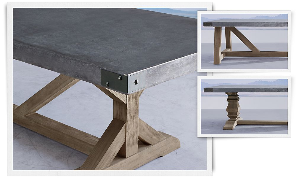 Mine In The Very Near Future Dining Room Makeover For The - Concrete dining room table