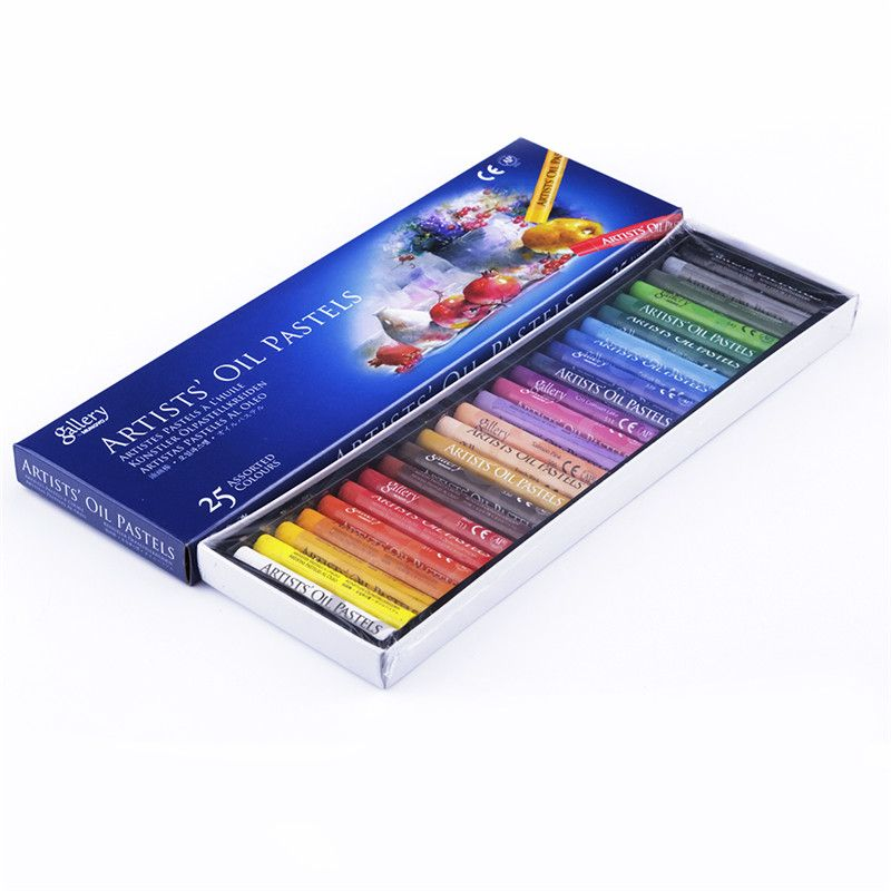 25 colors artist s oil pastels color crayons non toxic art drawing