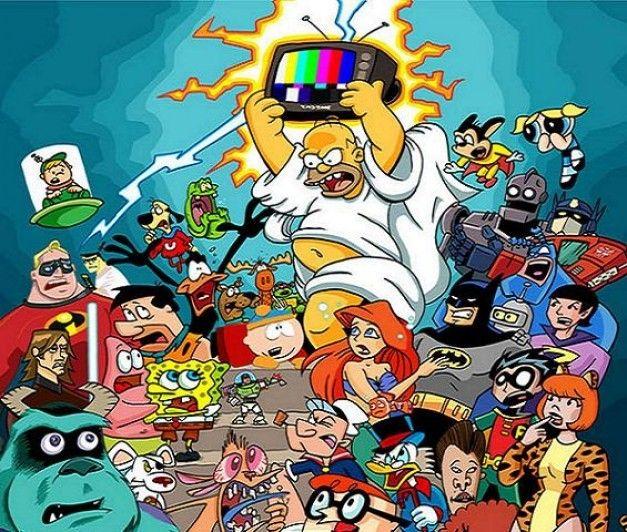 Foto Caricaturas Dibujos Animados 1 Personajes De Cartoon Network Dibujos Animados Historieta De Epoca