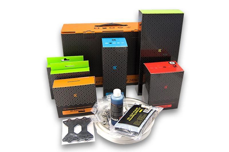Ek H3o Hfx 240mm Liquid Cooling Kit With Images Usb Flash