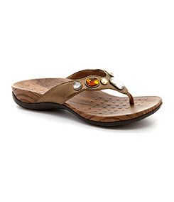 37b896ccd Vionic® with Orthaheel® Technology Jeweled Eve Sandals - Dillard s ...
