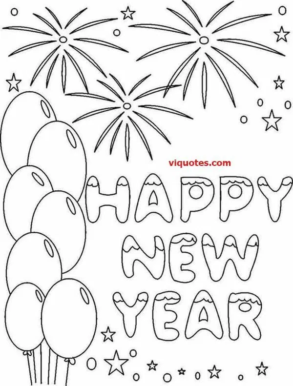 21 Happy New Year Art Happy New Year Art Ideas New Year Coloring Pages Free Printable Coloring Pages Coloring Pages