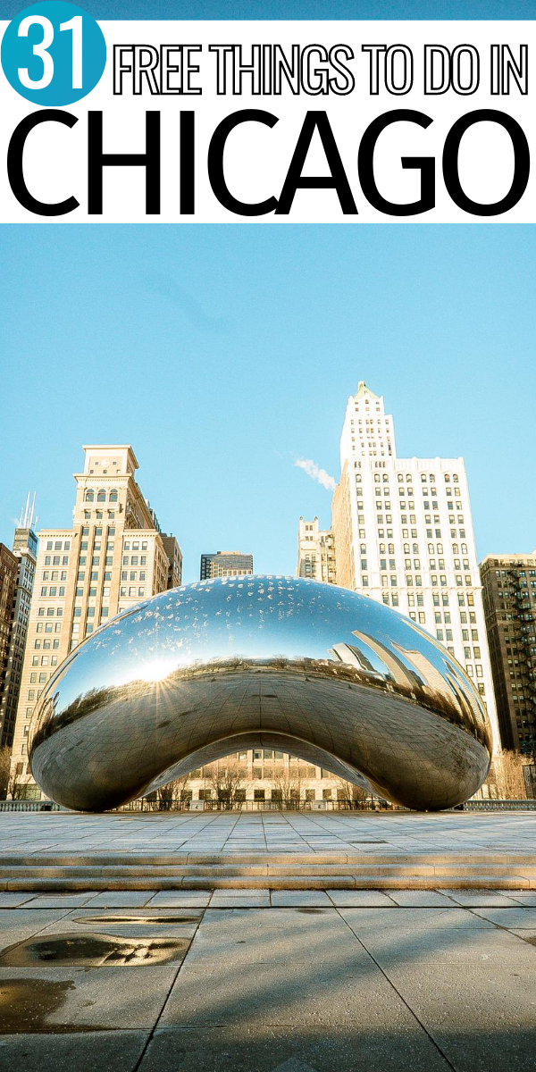 Chicago Is Such A Fun Place For A Vacation Or Weekend Getaway If You Re Planning A Trip To Chicago Illinois C Free Things To Do Midwest Travel Chicago Travel