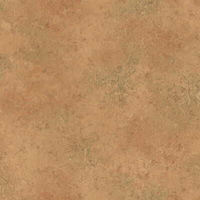 Wrought Studio™ Add warmth to your walls with this rust, plaster inspired wallpaper. Distressed details give it an antique flair.