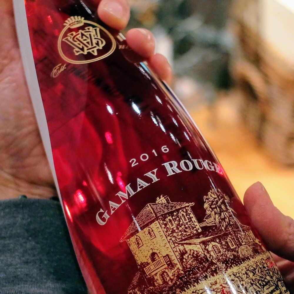 Do You Know The Way To Gamay This Was One Of My Very First Favorite Wines But I Ve Only Seen It At One W Gamay Personalized Wine Gift Wine Tasting Experience