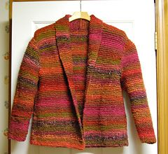 7b16434b6c32c Ravelry  Red Hot Sweater Jacket pattern by Mari Lynn Patrick