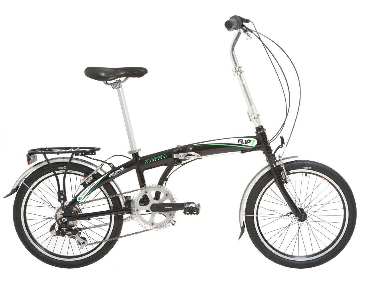 Bici Pieghevole Bfold 7.Indigo Flip 7 Bicicleta Plegables Rueda 20 In Color Negro