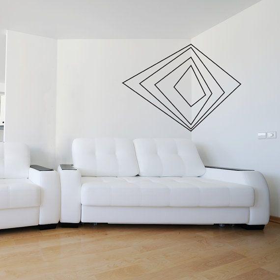 Corner 3d Art Vinyl Wall Decal Sticker Geometric Shaped Abstract Decal Geometric Wall Decal Abstract Nursery 3d Wall Decal Corner Decal Washi Tape Wall Wall Murals Diy Washi Tape Wall Art