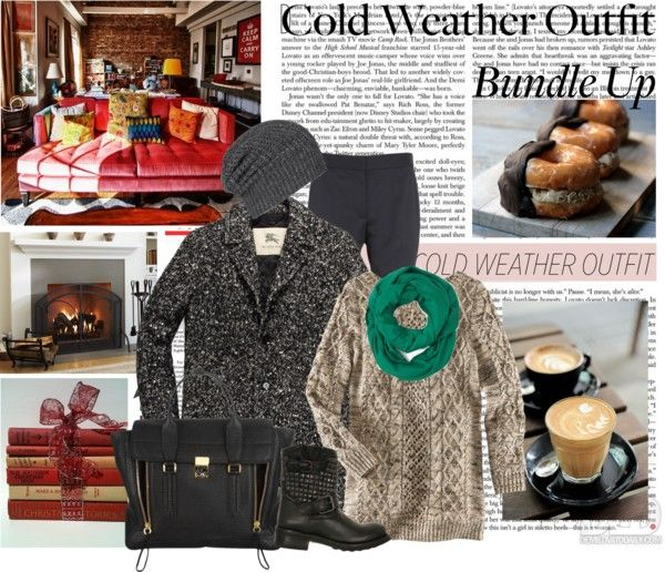 """Bundle Up: Your Favorite Cold Weather Outfit"" by dayanna ❤ liked on Polyvore"