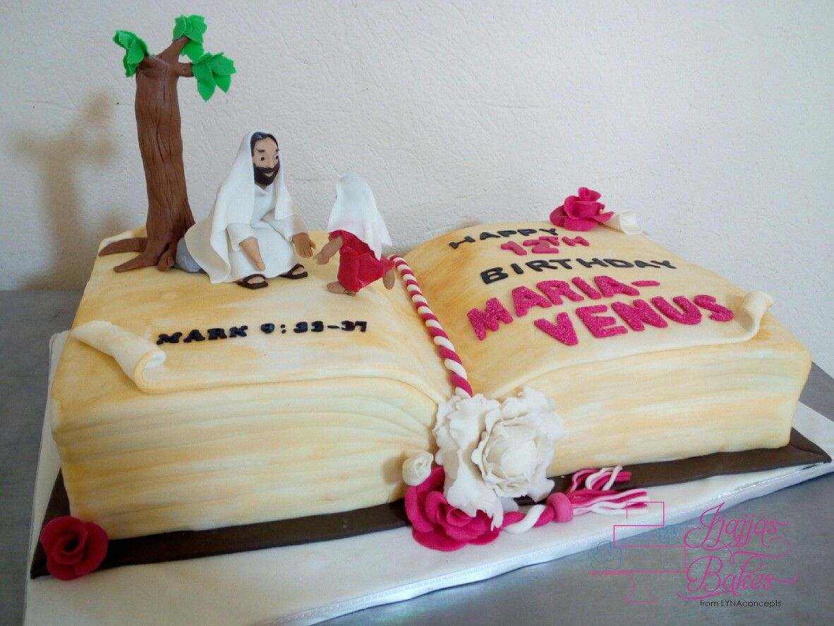 Bible story cake Jesus birthdaycake cakedesigner