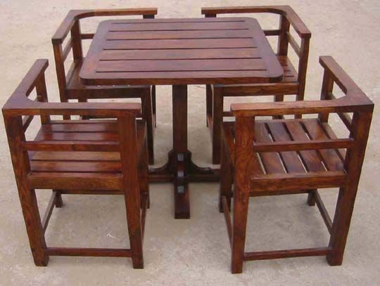Restaurant Table Set Wooden Dining Table Set Wooden Dining