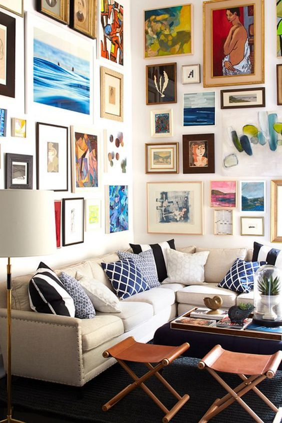 Kelly Martin Interiors - Blog - To the Wall! ***** gallery, wall ...