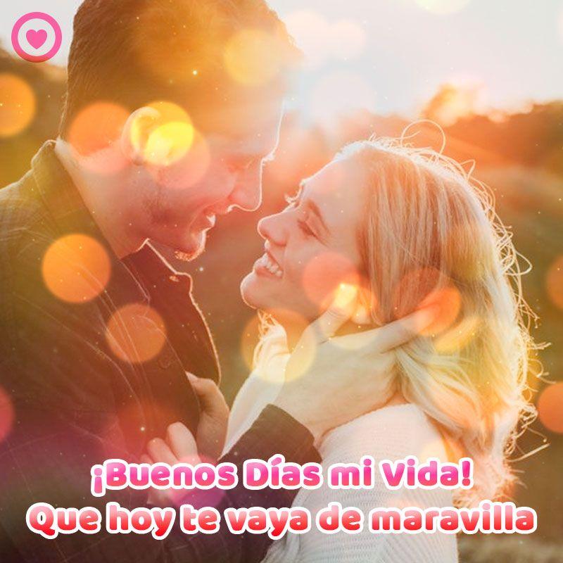 """Que tengas buenos días mi amor."""" categoría: 15 Ideas De Frases De Amor De Buenos Dias Se Bueno Amor Buenos Dias"""